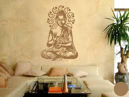 Klebefieber Wandtattoo Buddha B X H 67cm X Farbe Kupfer B072bj4z5w
