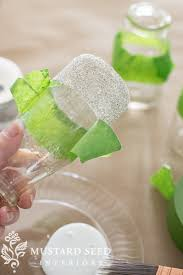 Milk Bottle Decorating Ideas glass glitter milk bottles miss mustard seed mms TUTORIALS 50