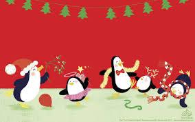 cute penguin christmas wallpaper. Modren Cute 25201575 In Cute Penguin Christmas Wallpaper C