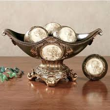 Decorative Bowl With Balls Decorative Orbs For Bowls Cameo Centerpiece Bowl With Orbs Cameo 13