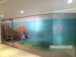 designs for office. Frameless Glass Partition Designs For Office