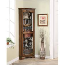 entrancing unique white glass door and fabulous corner china cabinet ikea dark brown color and laminate