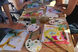 our work will enable you to experiment with a wide range of art materials find playful ways into your creative potential work with others and get