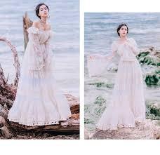 فستان نسائي طويل من YOSIMI موضة صيف <b>2019</b> مزين بالدانتيل ...