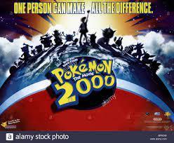 FILM POSTER POKEMON 2 (2000 Stock Photo - Alamy