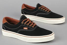 vans era 59 black. available now at select retailers is a new colorway from one of van\u0027s best selling models, the vans era 59. upper features black suede that 59 e