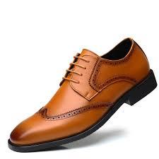 hot big size elegant men s genuine leather shoes men s moccasins comfortable business dress shoes large wedding