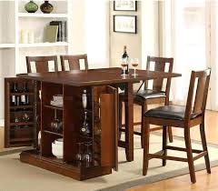 kitchen island table with storage. Kitchen Table With Shelves Acme Counter Height Island In Dark Oak By Furniture . Storage D