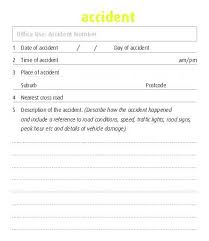 Fax Form Template Free Cool Company Vehicle Accident Report Form Template Elegant Incident Free