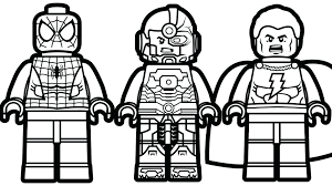 Lego Flash Coloring Pages Coloring Book And Pages Coloring Pages For