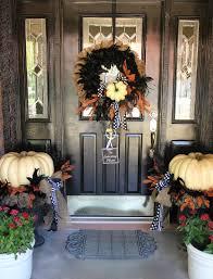 Exterior Door Decorating 25 Elegant Halloween Decorations Ideas Pumpkin Wreath Pumpkins