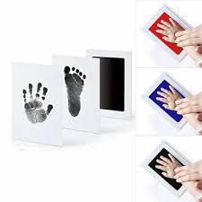 INKLESS WIPE BABY Kit-<b>Hand Foot</b> Print Keepsake Newborn ...