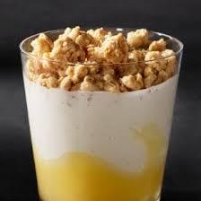 lemon crunch yogurt parfait