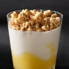 lemon crunch yogurt parfait