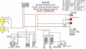 yamaha xs650 chopper wiring diagram solidfonts 650 rider xs650 motorcycle systems electrical is
