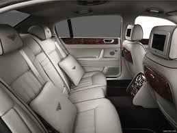 Bentley Continental Flying Spur Speed - Interior, Rear Seats ...
