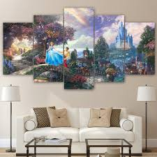 Wall Art Paintings For Living Room Castle Wall Art Promotion Shop For Promotional Castle Wall Art On