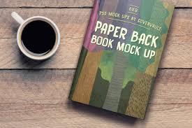 X Book Coffee Table Template Mockup