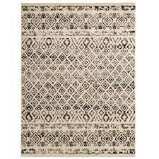 tribal essence ivory 5 ft x 7 ft area rug