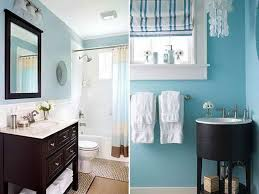 Brown and Blue Bathroom Ideas Blue Brown Color Scheme Modern