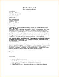 Letter Of Intent For Nursing School Example Best Template