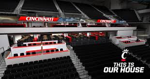 5th 3rd Arena Seating Chart Loge Box Seats Fifth Third Arena Renovation Project