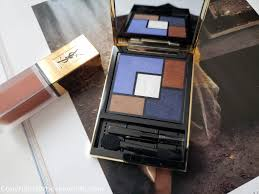 yves saint lau le pact encre de peau couture palette collector yconic purple all