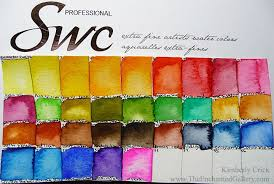 Shinhan Swc Professional Artist Quality Watercol In 2019