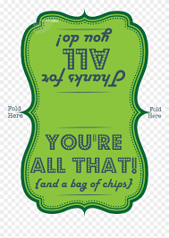 Teacher Staff Appreciation Printable Youre All That And