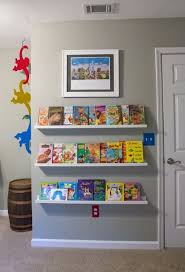 kids bookshelves design with storage system 10 Cute Minimalist Bookshelves  For Kids Rooms