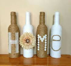 Home Decor With Wine Bottles Recycled wine bottles recycledwinebottles 10