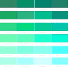 Green Paint Color Chart Emerald Green Paint Colors Combill