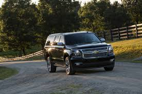 Comparison - Chevrolet Suburban SUV 2016 - vs - Chevrolet Tahoe ...