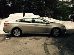 On the Road Review: Toyota Avalon Hybrid Sedan - The Ellsworth ...