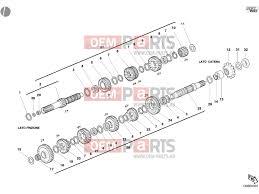 ducati st3 gear box unclassified epc parts > oem parts hu ducati st3 gear box unclassified