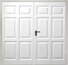 side hinged garage doorsFibreglass Side Hinged Garage Doors  Access Garage Doors
