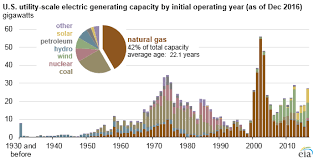 Natural Gas Generators Make Up The Largest Share Of Overall
