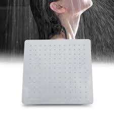 Details Zu Duschbrause Regenbrause Duschkopf Edelstahl Regendusche Brausekopf Dusch 30x30cm