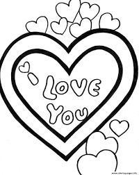 Print i love you valentine sff98 coloring pages | Coloring book ...