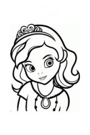 Sofia The First Free Printable Coloring Pages For Kids