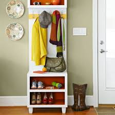 Coat Rack Shoe Storage Fascinating Narrow Coat Rack Bench With Shoe Storage Could Be Made Wider Andy