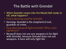 beowulf the epic poem ppt video online  3 the battle grendel
