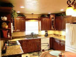Recessed Lighting Kitchen Tray Ceiling Lighting Traditional Kitchen Kitchen Breakfast Bar