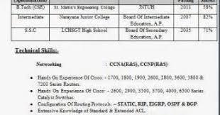 resume sample resume for freshers ccna resume format download hardware  networking sample for ccna network engineer