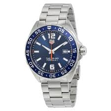 tag heuer formula 1 blue dial men s watch waz1010 ba0842 formula tag heuer formula 1 blue dial men s watch waz1010