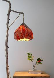 how to make a hanging pendant light easily with you origami lampshade and pendant light kit