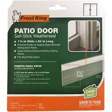 patio door weatherstrip frost king
