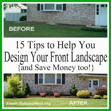 tips to help you design your front yard