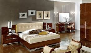 Italian Bedroom Furniture Raya Furniture - Black and walnut bedroom furniture