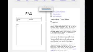 Fax Cover Sheet Template Word Download Free Ms Printable Pdf